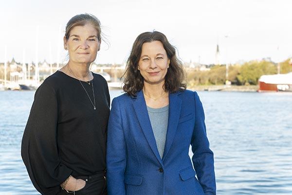 Gunilla Mild Nygren och Ann-Sofi Sjöberg leder Opodden Foto: Charlotte Gawell